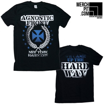 AGNOSTIC FRONT ´Blue Cross´ T-Shirt