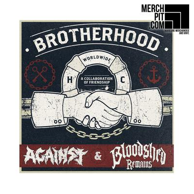 AGAINST & BLOODSHED REMAINS ´Split´ [12''']