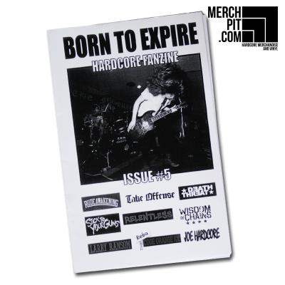 BORN TO EXPIRE Fanzine - Issue #5