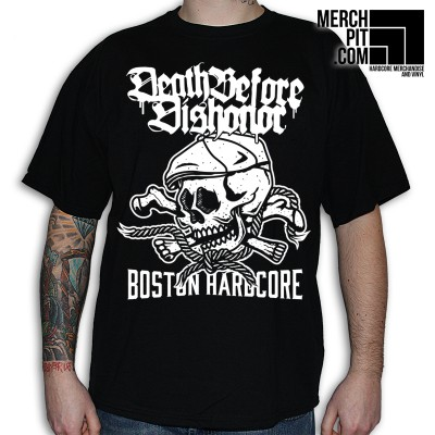 DEATH BEFORE DISHONOR ´Skull´ - Black T-Shirt