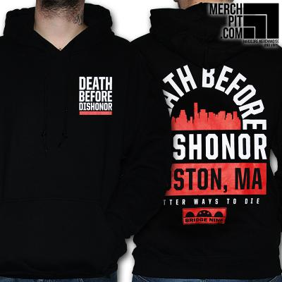 DEATH BEFORE DISHONOR ´Skyline´ - Black Hoodie