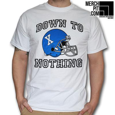 Down To Nothing - Helmet - T-Shirt