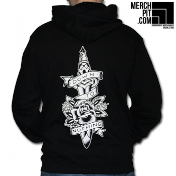 Down To Nothing - Tattoo Knife - Hoodie