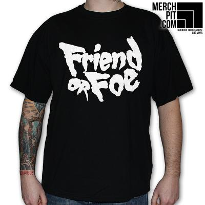 FRIEND OR FOE ´Logo´ - Black T-Shirt