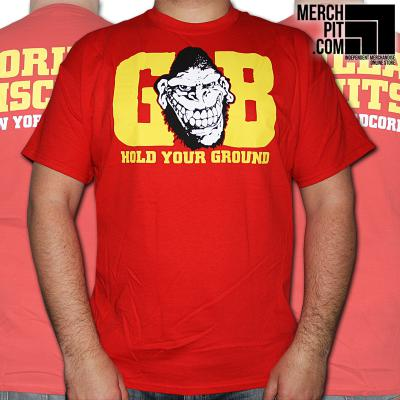 GORILLA BISCUITS ´Hold Your Ground´ Red [Shirt]