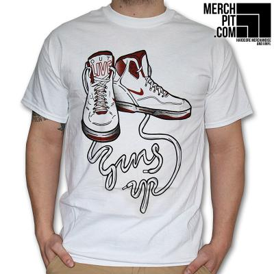 Guns Up - Shoes - T-Shirt