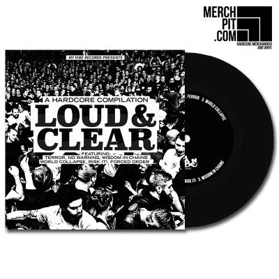 LOUD & CLEAR - A HC Compilation - EP - Black