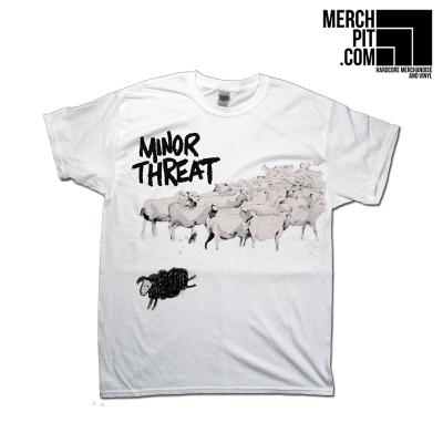 MINOR THREAT ´Out Of Step´ - White T-Shirt