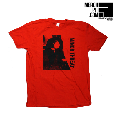 MINOR THREAT ´LP Cover´ Red [Shirt]