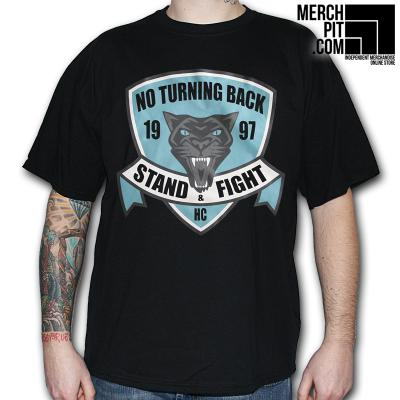 No Turning Back - Stand & Fight - T-Shirt