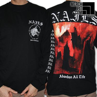 NAILS ´Abandon All Life´ [Longsleeve]