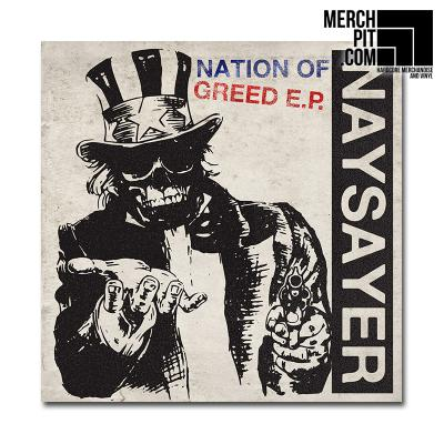"NAYSAYER ´Nation Of Greed´ [7""]"