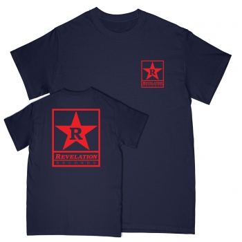 REVELATION RECORDS ´Classic Design´ Navy Blue [Shirt]