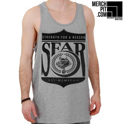 STRENGTH FOR A REASON ´Est. MCMXCVII´ - Sports Grey Tank Top
