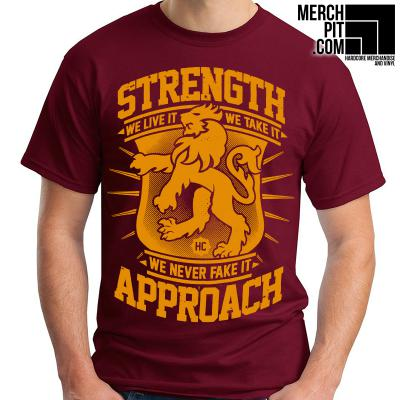 Strength Approach - We Never Fake It - T-Shirt