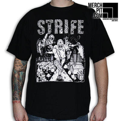 STRIFE ´LAHC´ - Black T-Shirt