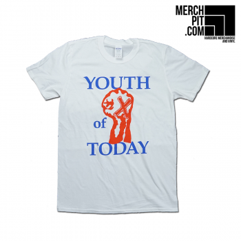 YOUTH OF TODAY ´X'ed Fist´ - White T-Shirt