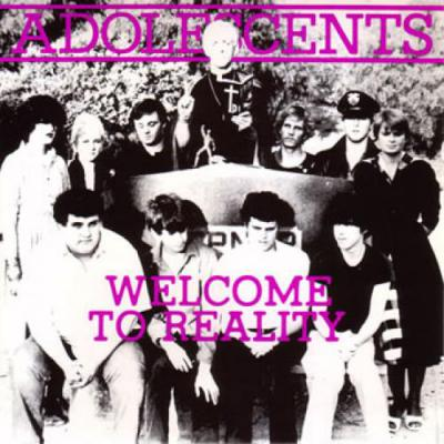 ADOLESCENTS ´Welcome To Reality´ 10""