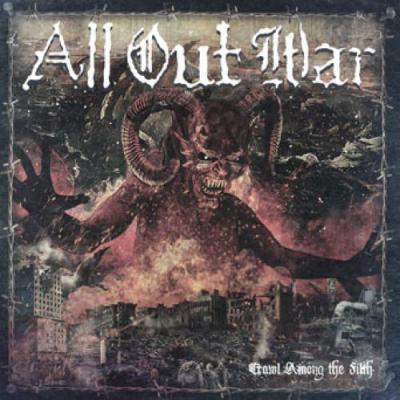 ALL OUT WAR ´Crawl Among The Filth´ LP