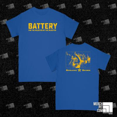 BATTERY ´For The Rejected By The Rejected´ Blue [Shirt]