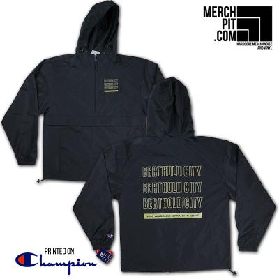 BERTHOLD CITY ´Los Angeles Straight Edge´ Black [Windbreaker]
