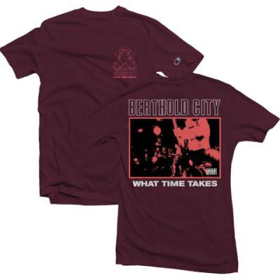 BERTHOLD CITY ´What Time Takes´ [Burgundy Shirt]
