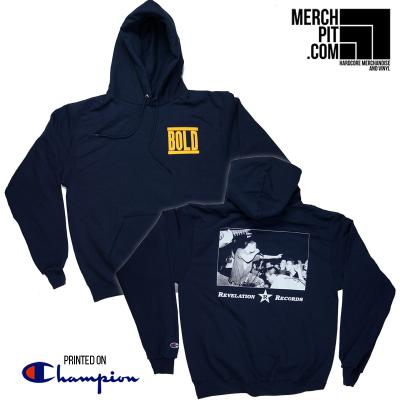 BOLD ´Logo Pocket´ - Navy Blue Champion Hoodie