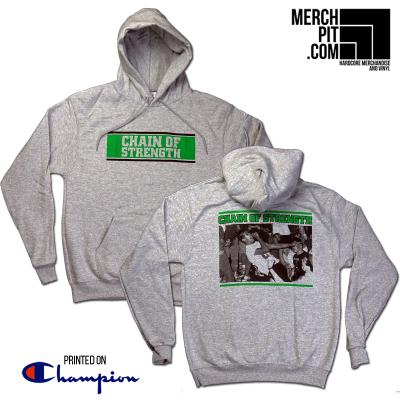 CHAIN OF STRENGTH ´C.O.S.´ - Sports Grey Champion Hoodie