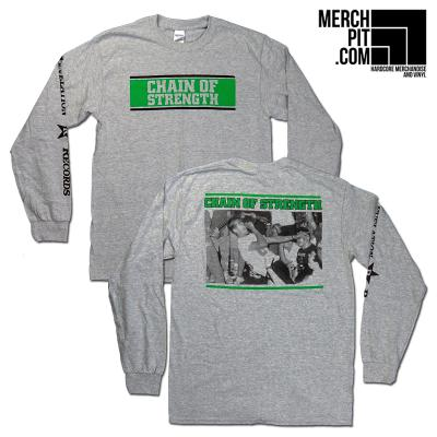 CHAIN OF STRENGTH ´C.O.S.´ - Sports Grey Longsleeve