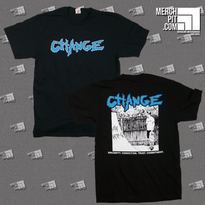 CHANGE ´Sincerity. Conviction. Trust. Committment´ - T-Shirt