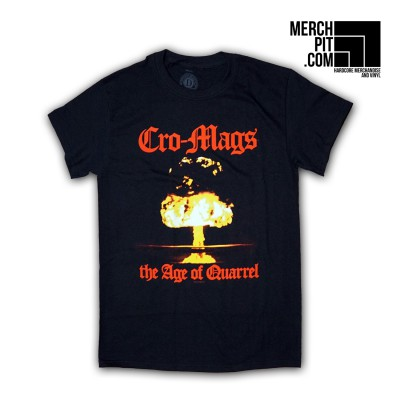 CRO-MAGS ´Age Of Quarrel´ Shirt