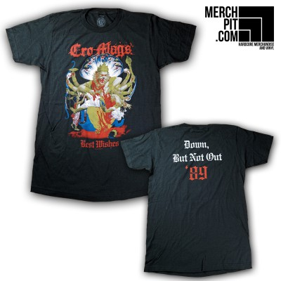 CRO-MAGS ´Best Wishes´ - Black T-Shirt