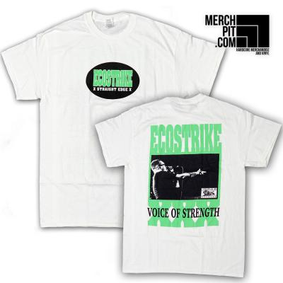 ECOSTRIKE ´Voice Of Strength´ White [Shirt]