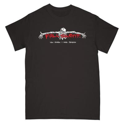 FALL SILENT ´You Knew I Was Poison´ - Black T-Shirt