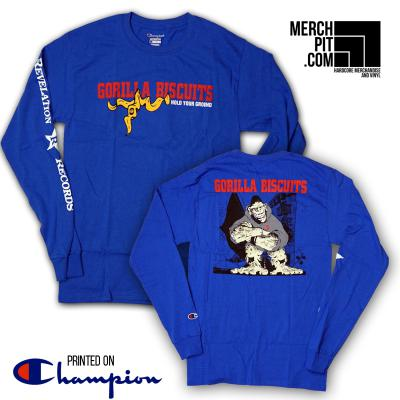GORILLA BISCUITS ´Hold Your Ground´ Longsleeve