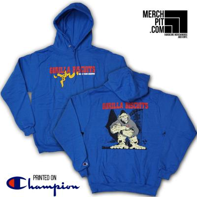 GORILLA BISCUITS ´Hold Your Ground´ - Royal Blue Champion Hoodie