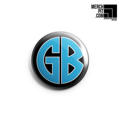 GORILLA BISCUITS ´GB Blue´ - Button
