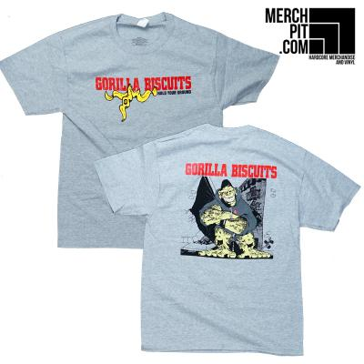 GORILLA BISCUITS ´Hold Your Ground´ Sports Grey Shirt