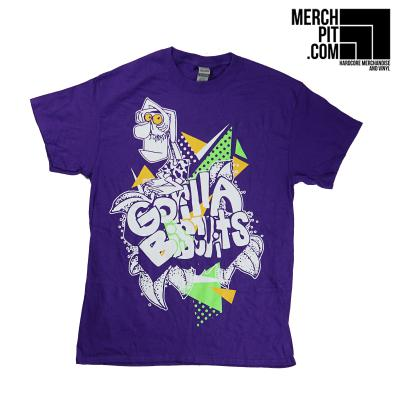 GORILLA BISCUITS ´Moustache Man´ Purple [Shirt]