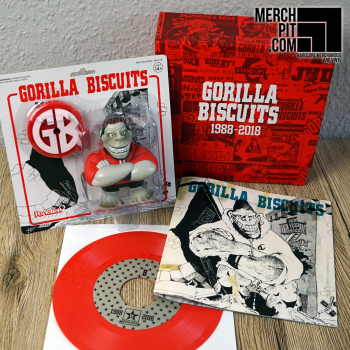"GORILLA BISCUITS ´Super 7 - Box Set´ [Action Figure + 7""]"