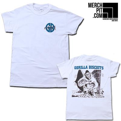 GORILLA BISCUITS ´City´ - White T-Shirt