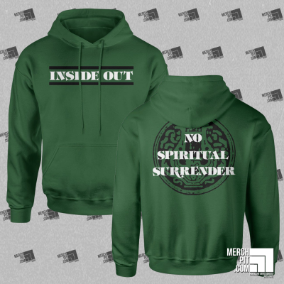 INSIDE OUT ´No Spiritual Surrender´ - Green Hoodie