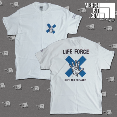 LIFE FORCE ´Hope And Defiance - White T-Shirt