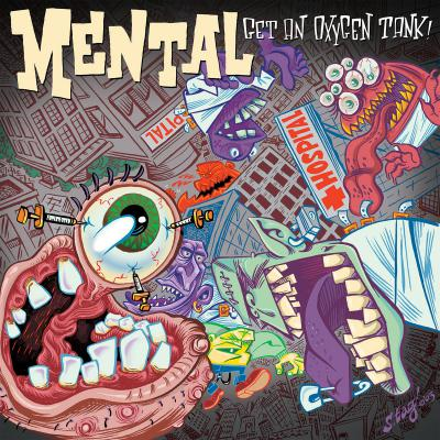 MENTAL ´Get An Oxygen Tank´ [LP]