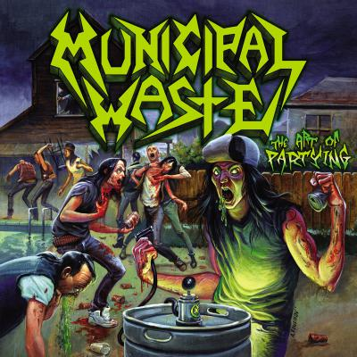 MUNICIPAL WASTE  ´The Art Of Partying´ [LP]