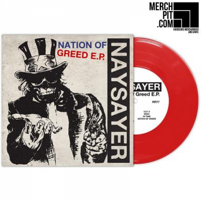 Naysayer - Nation Of Greed EP - Red