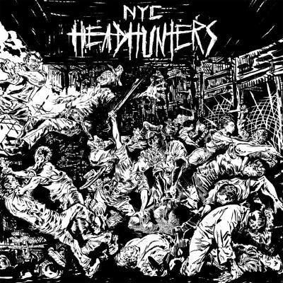 "NYC HEADHUNTERS ´The Rage Of The City´ [7""]"