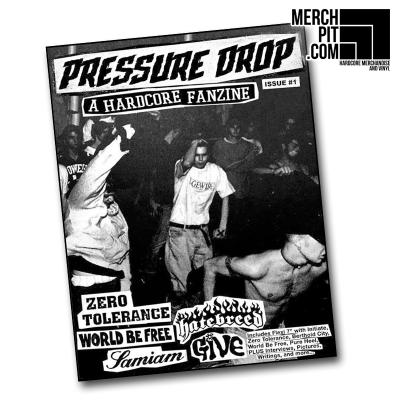 PRESSURE DROP FANZINE #1 w/ Flexi Disc