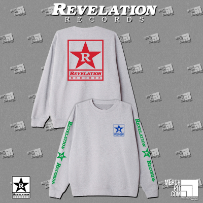 REVELATION RECORDS ´Logo´ - Sports Grey Crewneck