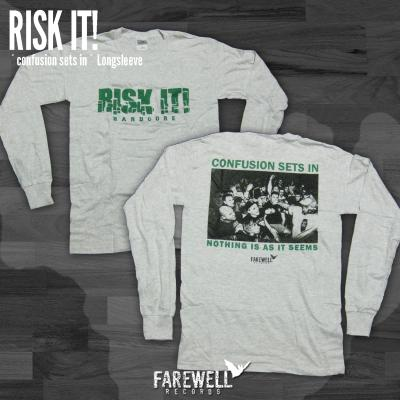 RISK IT! ´Confusion Sets In´ [Longsleeve]